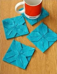 Craft Design Ideas Weaved Fabric Decorative Accessories Bringing Origami Craft Ideas