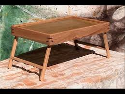 Free Woodworking Plans Laptop Desk by Breakfast In Bed Tray Or Laptop In Bed Tray Youtube