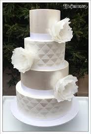 white wedding cake geometric white on white wedding cake cakecentral