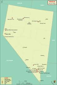 Mccarran Airport Map Airports In Nevada Nevada Airports Map