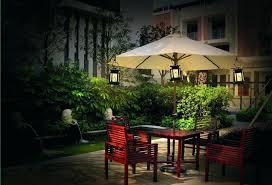 solar led umbrella lights patio umbrella with solar powered led lights the fantastic free