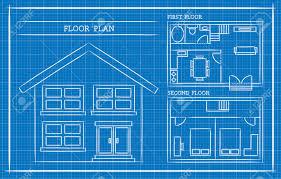 blueprint house plans blueprint house plan architecture royalty free cliparts vectors