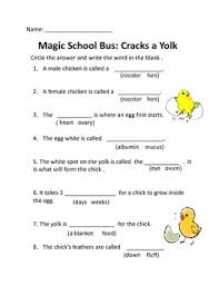 k 2 science quiz for magic school episode 41 cracks a yolk