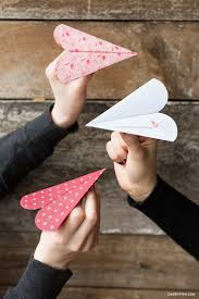 heart paper airplane lia griffith