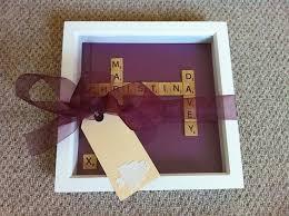 Wedding Gift Craft Ideas 90 Best Scrabble Art Images On Pinterest Scrabble Letters