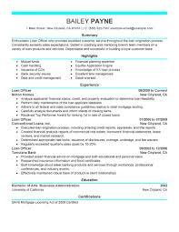 Finance Resume Template Senior Mortgage Loan Closer Resume Sample Vinodomia Entry Level
