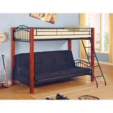 Futon Bunk Bed  Shop Bunk Beds With Futons - Futon bunk bed with mattresses