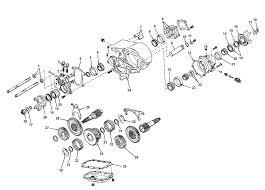 jeep dana 20 transfer case parts dana spicer model 20 parts