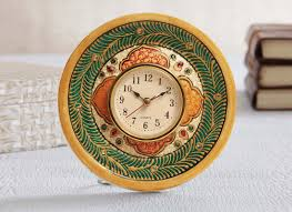 Online Home Decor Shops by Meenakari Table Watch Marble Showpiece Online Online Home