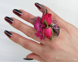 Red Prom Corsage Prom Corsage Prom Flowers