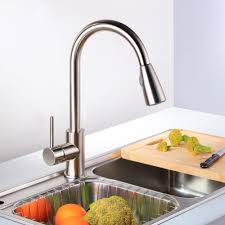 stainless steel american standard pekoe pull down kitchen faucet