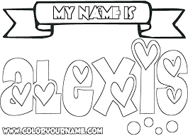 printable coloring pages of your name coloring coloring letters printable coloring pages awesome name