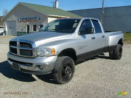 2005 dodge ram 3500 for sale 2005 dodge ram 3500 slt cab 4x4 dually in bright silver