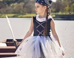 Girls Halloween Pirate Costume Pirate Costume Etsy