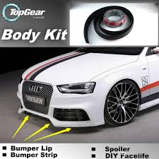 audi a4 spoiler 2017 for audi a4 s4 rs4 2000 2016 bumper lip kit tuning