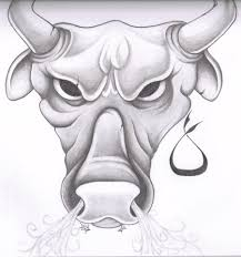 taurus drawings taurus tattoo by glax34 drawing pinterest