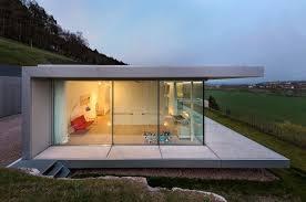 pool that seems to float above a hill zero energy minimalist villa k