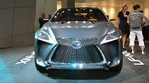 lexus lf nx video the new lexus lf nx crossover concept auto moto japan