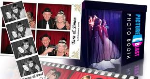 party photo booth party booth wedding and corporate pictureblast