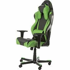 choisir chaise de bureau dx racer fauteuil bureau gamer en vert et noir meubles