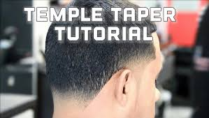 hair cut book front back view how to temple taper fade blowout haircut youtube