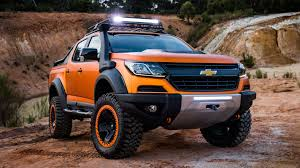 chevy concept truck 2019 chevrolet colorado zr2 concept release price changes pickup