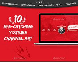 youtube templates u2013 15 free pdf psd ai vector eps format
