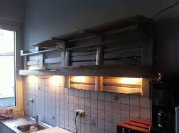 Shelves From Pallets by Küchenregal Leer Beleuchtet Badezimmer Ideen Pinterest Loft