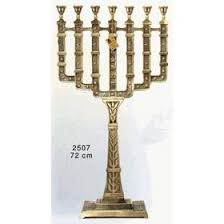 7 candle menorah 7 branch menorah temple menorah sale candelabra ahuva