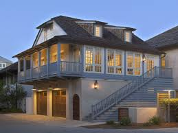 enclosed deck ideas two story carriage house garage small