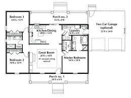 one house plans with porches 1 level house plans one level house floor plans one floor house