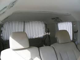 Camper Van Blinds Toyota Hiace Complete Rear Curtain Set Campervan Blinds Grey Ebay