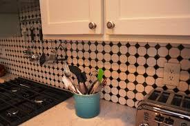 unique black and white kitchen backsplash u2014 biblio homes awesome