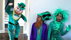 st patrick u0027s day leprechaun vs shiloh and shasha onyx kids youtube