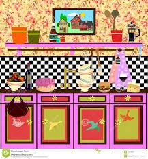 country style retro kitchen royalty free stock photos image 6279058