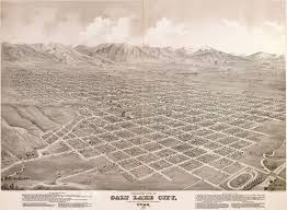 Map Of Utah Cities by Glover U0027s Map Of Salt Lake City 1875