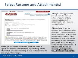 Submit Your Resume Online by The Federal Hiring Process Using Usajobs U0026 Application Manager