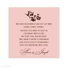 bridal registrys wedding registry cards for invitations yourweek a53b49eca25e