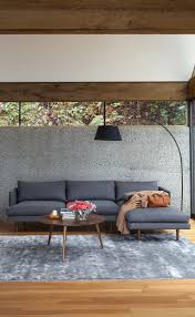 Modern Grey Sectional Sofa Grey Corduroy Sectional Sofa Best Home Furniture Decoration