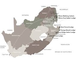 Africa Map Games by Hluhluwe Game Reserve Accommodation Rhino Ridge Safari