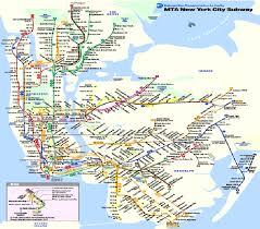 mta map subway 1 subway map york city mta 1999