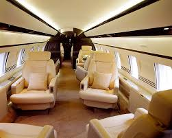 Private Jet Interiors Global 5000 6000 Private Jet Charter