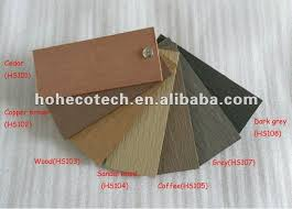 300mmx300mm recycling wood plastic composite embossing cedar color