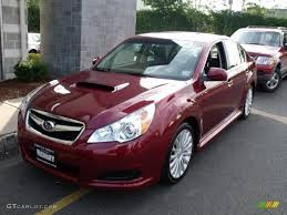 red subaru legacy 2010 ruby red pearl subaru legacy 2 5 gt limited sedan 37175583