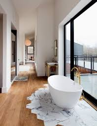 Great Modern Bathroom Designs For Small Spaces Walnut Floors - New york bathroom design