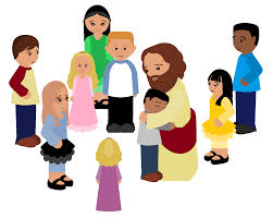 jesus and children clipart free clip art images freeclipart pw