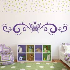 butterfly wall stickers iconwallstickers butterfly crown banner butterflies insect wall sticker home decor art decals