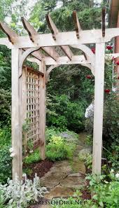 trellis plans best 25 arbors trellis ideas on pinterest arbors garden arbor