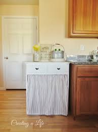 Kitchen Cabinet Garbage Drawer Creating A Life Farmhouse Style Kitchen Cabinet
