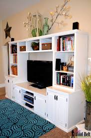 entertainment center pb media center plan her tool belt